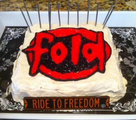 Fold Bday Cake